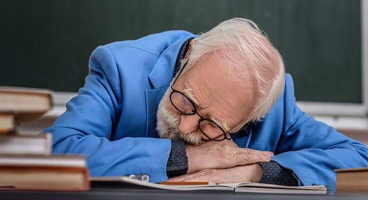 сон на лекциях