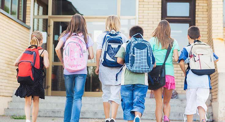 Учим ребёнка посещать школу